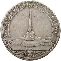 Papal States Piastra 1713 Obelisk Clemens Xi. Very Rare T96 363