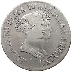 Italy States 5 Franchi 1808 Lucca T93 279