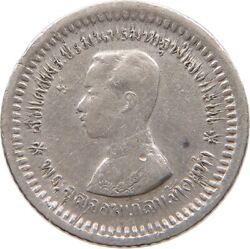Thailand 1/8 Baht Fuang 1876-1900 T115 505
