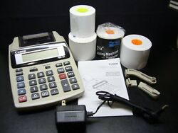 Used - Canon P23-dh Desktop Lcd Screen And 2 Color Printing Calculator