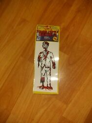 NIP Zombie Family Decals Dad Figure Removable 6quot;