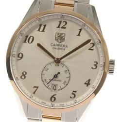 Tag Heuer Carrera Was2151 Silver Dial Automatic Menand039s Watch_561493