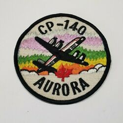 Royal Canadian Air Force Rcaf Cp-140 Aurora Aircraft Patch Vintage Canada