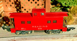 American Flyer 630 Reading 1947 Lighted Caboose.... Collector Condition