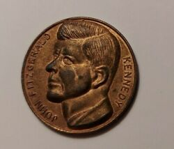 John Fitzgerald Kennedy Token With Ask Not What Your Country .... 1917-1963