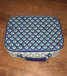 TORY BURCH Neiman Marcus Target Make up Lunch Box Tote Rare Find $24.00