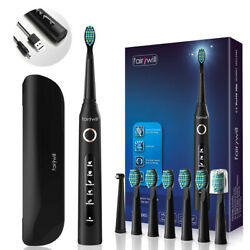 Fairywill D7 Sonic Electric Toothbrush Whitening Power Toothbrush Anda Travel Case