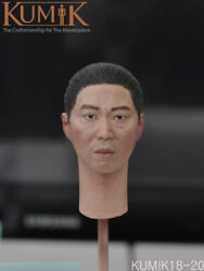 Kumik 1/6 Scale Kumik18-20 Male Head Sculpt Fit 12and039and039 Action Figure