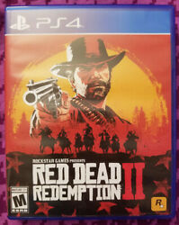 Red Dead Redemption 2 Playstation 4 Ps4 Game With Map