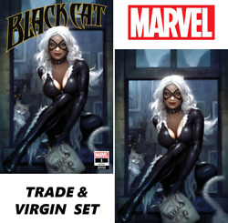 Sold Out Black Cat 1 - Ryan Brown Exclusive Trade And Virgin Set