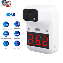Wall Mounted Automatic Digital Infrared No-contact Forehead Thermometer