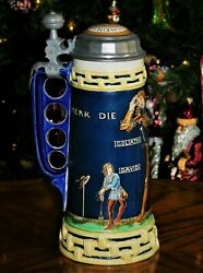 'david And Goliath' The Classic By Mettlach / Villeroy And Boch - Mint Condition