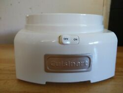 Cuisinart Ice Cream Maker Ice-21 Motor Base Replacement Part Tested And Working