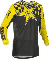New Fly Racing Men's 2021 Rockstar Kinetic Mesh Combo Pants, Jersey And Gloves