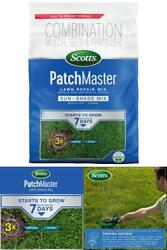 10 Lbs. Patchmaster Sun And Shade Grass Seed Mulch And Lawn Fertilizer
