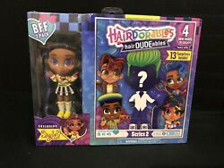 Hairdorables Hairdudeables Series 2 Doll Exclusive Skylar And Boy Bff 2-pack