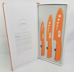 Best Ceramic Knife Set Andndash 3 Chef Rated Blades With Safeedge Back Corners