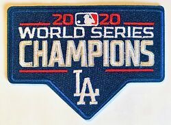 2020 MLB Los Angeles Dodgers World Series Champions Patch Iron On Or Sew LA