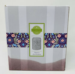 """SCENTSY Full Size Wax Warmer """"MEET IN THE MEADOW"""" New In Box"""