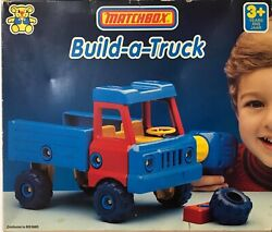 Vintage 1988 Matchbox Built A Truck Plastic Build Toy Camion New In Box Rare