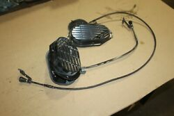 1963-1964 Corvette Fresh Air Pull Cables Doors Grilles Lh And Rh
