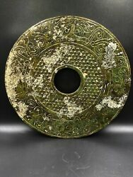 Old Ancient Antique Chines Jade Bi Disc Han Dynasty