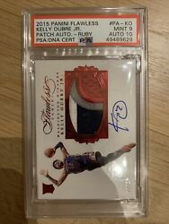 Kelly Oubre 15/16 Flawless Rookie Rc Patch Auto Pa-ko Sn 02/15 Psa 9 10 Auto