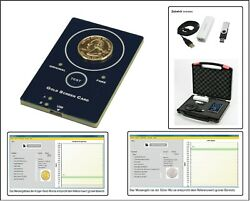 Look Gold Tester Goldscreencard + Accessory Gold And Silver Coins Test