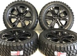 20 Oem Factory Ford F-150 King Ranch Black Wheels Rims Tires Off-road Lariat 6