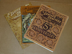 The Leather Crafters And Saddlers Journal 3 Issues 1996 2005 2007