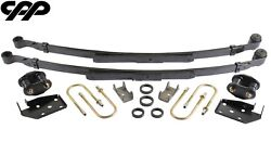 1968-69 Chevy Camaro Stock Height Complete Narrow Multi Leaf Spring Upgrade Kit