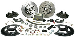 1964-1967 Ford Mustang Mercury Cougar Complete Front Disc Brake Conversion Kit