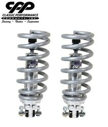 1965-74 Galaxie Viking Coilover Conversion Kit Double Adjustable Shocks 650lb