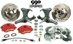 1971-72 Chevy C10 Gmc Truck D52 Wilwood Disc Brake Kit 5 Lug Stock Spindle