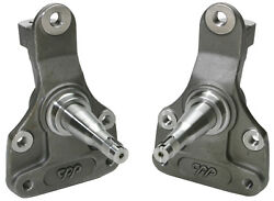 1968-72 Chevy Chevelle Malibu Ss Cpp 2 Modular Drop Lowered Disc Brake Spindles