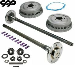 1963-64 Chevy Truck C-10 C10 5 Lug Axle Conversion With Drums 30 3/4