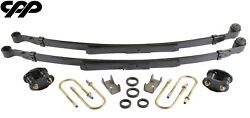 1970-1981 Chevy Camaro Stock Height Complete Narrow Leaf Spring Upgrade Kit