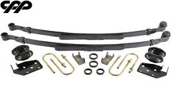1967 67 Chevy Camaro Stock Height Complete Narrow Leaf Spring Upgrade Kit