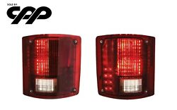 73 87 Chevy Truck United Pacific Led Sequential Tail Light Kit Ctl7387led Pair