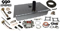 1964-66 Ford Mustang Fitech 30003 Efi Fuel Injection Gas Tank Fi Conversion Kit