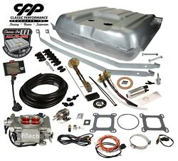 57 Belair Ls Efi Fitech 30003 Fuel Injection Gas Tank Fi Conversion Kit 90 Ohm