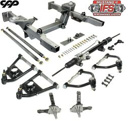 62-67 Chevy Nova Front Ifs Mustang 2 Front End Crossmember Component Kit