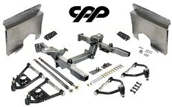 66-67 Chevy Nova Ifs Mustang 2 Front End Crossmember Tubular Arms Fender Panels