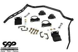 1964-70 Ford Mustang Cpp Pro Touring High Clearance 1 1/4 Rear Adj Sway Bar Kit