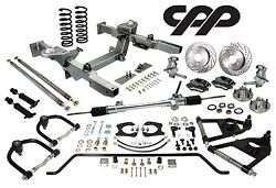 Chevy Nova Ifs Mustang 2 Independent Front Suspension Black Wilwood Calipers