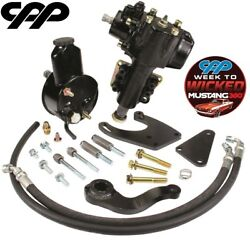 1967-70 Ford Mustang Cpp 400 Series Power Steering Gearbox Conversion Kit