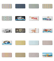 Ambesonne Cartoon Nursery Rectangle Non Slip Mousepad 35quot; x 15quot; Gaming Size