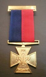 Scouts Of Belize - Scout Leader / Commissioner Gilt Cross For Gallantry Medal