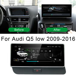 Android 10 Car Gps Radio Video Player Wireless Carplay For Audi Q5 8r 2009-2016