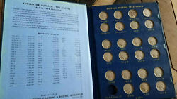 Complete Buffalo Nickel Book Minus 2 From Uncleand039s Collection